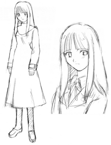 Tập tin:Asagami Fujino early sketch.png