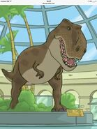 Tyrannosaurus Phineas and Ferb