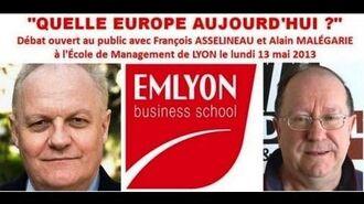"""""""Quelle Europe aujourd'hui ?"""" - Débat François Asselineau vs Alain Malégarie"""