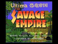 Savage(SNES)1