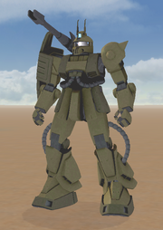 MS-06K Type B Zaku Cannon