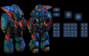 Al slot heavy battle suit