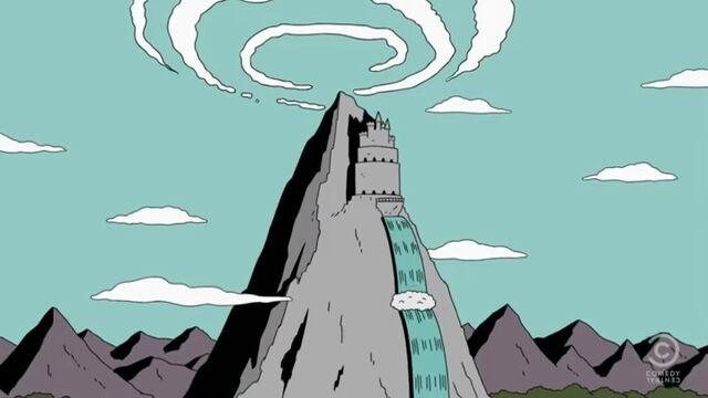 File:Mt Magic with Waterfall.jpg
