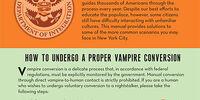 Vampire conversion