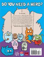 Uglydoll comic backcover