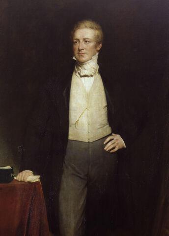 File:Sir Robert Peel, 2nd Bt by Henry William Pickersgill-detail.jpg