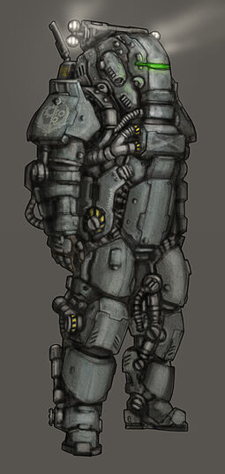 Heavy bos armor by noodleart-d49h3i8