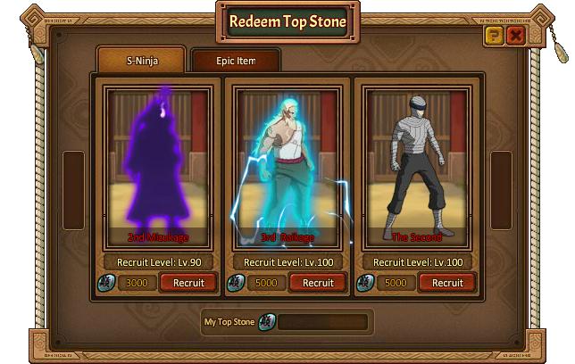 Elite Match Redeem Top Stone