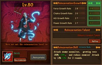 Reincarnation One Hidan