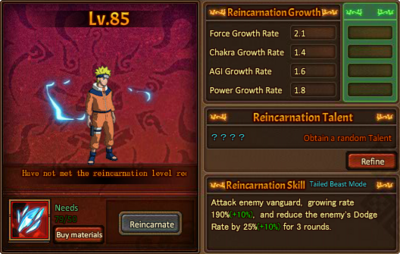 Reincarnation One Uzumaki Naruto