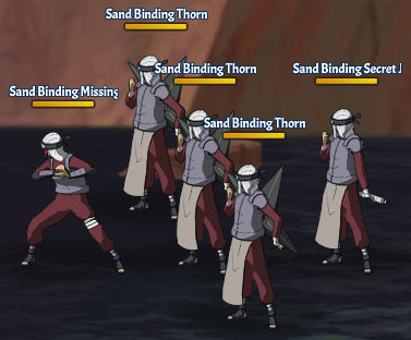 Sand Binding Land Fight 2