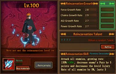 Reincarnation One Pain