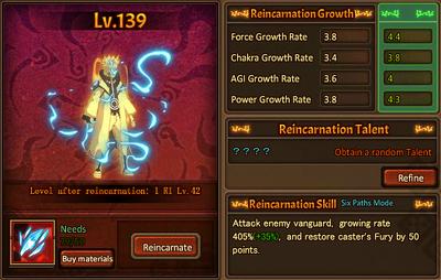 Reincarnation One Rikudo Naruto