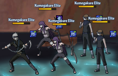 Top Kages Raikage Team Fight Two