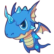 Crystal Blue Dragon