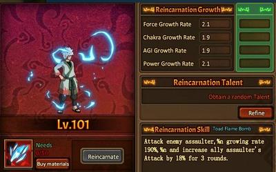 Reincarnation One Jiraiya