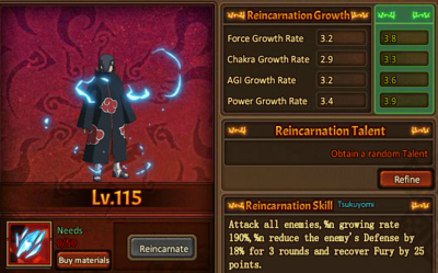 Reincarnation One Illusion God Itachi