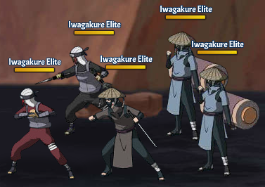 Top Kages 2nd Tsuchikage Team Fight Two