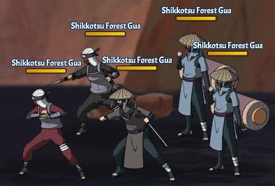 Sage Heirloom Shikkotsu Forest Fight 1