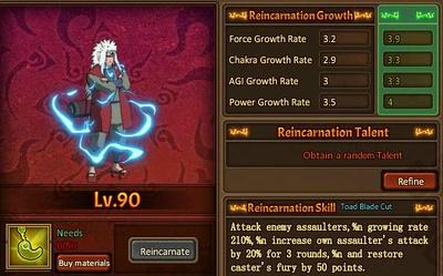 Reincarnation One Sennin Jiraiya