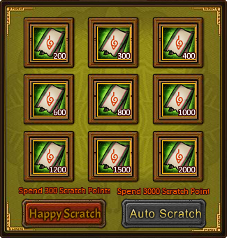 Happy Scratch Lucky Card 2