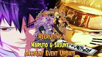 Anime Ninja - Recruiting Naruto & Sasuke Account Event Update - Naruto Games - Browser Online