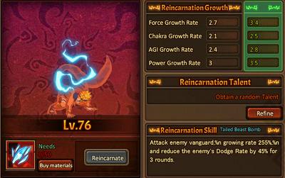 Reincarnation One Nine-Tails Naruto