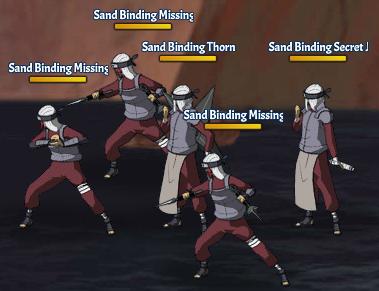 Sand Binding Land Fight 6