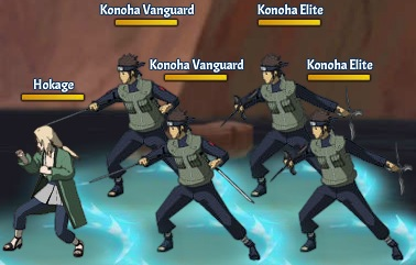 TK 5th Hokage 3rd Team