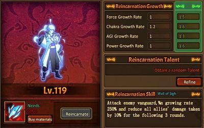 Reincarnation One Genjutsu Main Male