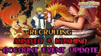 Anime Ninja - Recruiting Minato & Kushina Account Event Update - Naruto Games - Browser Online