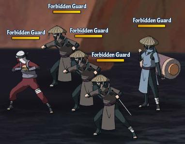Taboo Jutsu Orochimaru's Attack Fight 2