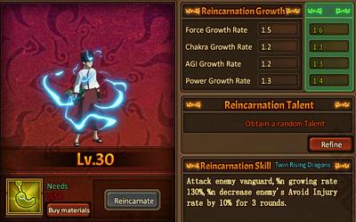 Reincarnation One Tenten