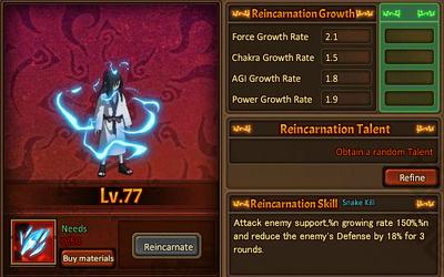 Reincarnation One Orochimaru