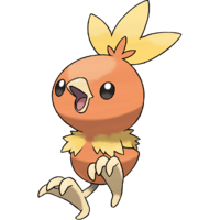 Torchic In Alpha and Omega