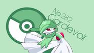 Cartoon Comic Pokemon Gardevoir Green 104747 1920x1080