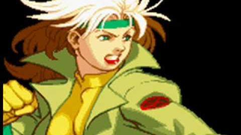 X-Men Vs Street Fighter-Theme of Rogue