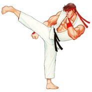Street Fighter II Art Ryu 1