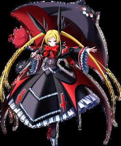 Rachel Alucard (Chrono Phantasma, Character Select Artwork)