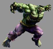 Marvel VS Capcom 2 Hulk by UdonCrew