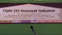 Flight395MonumentSign