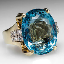 Lucy's Aquamarine Ring