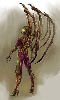 Sarah Kerrigan Refined (StarCraft)