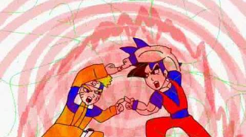 Fusion Project Goku & Naruto