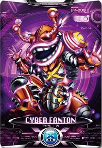 Ultraman X Cyber Fanton Card