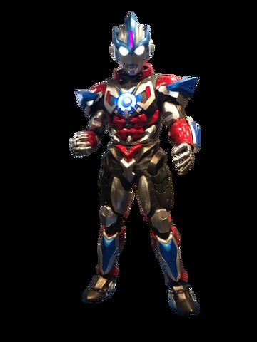 File:Ultraman orb lightning attacker statue by zer0stylinx-dak48h4.png