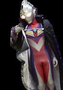 Ultraman tiga black cape render by I