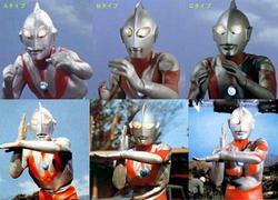 Ultraman Fighting style