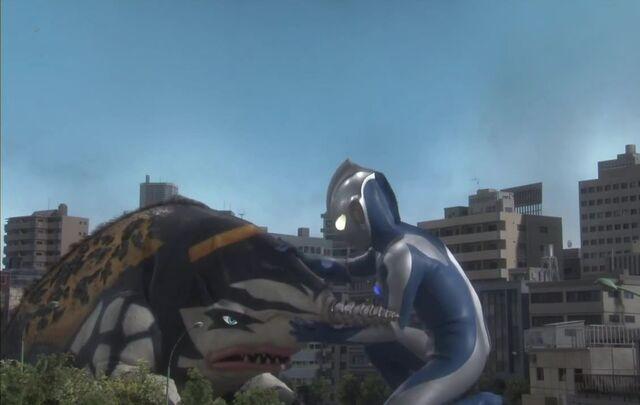 File:Ultraman Saga-Gubila Screenshot 005.jpg
