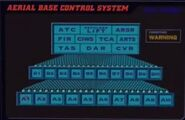 Aerial base control systems